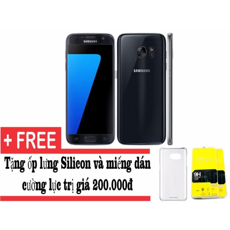 Samsung Galaxy S7 32GB (Đen) + Tặng dán màn hình và ốp lưng - Hàng nhập khẩu