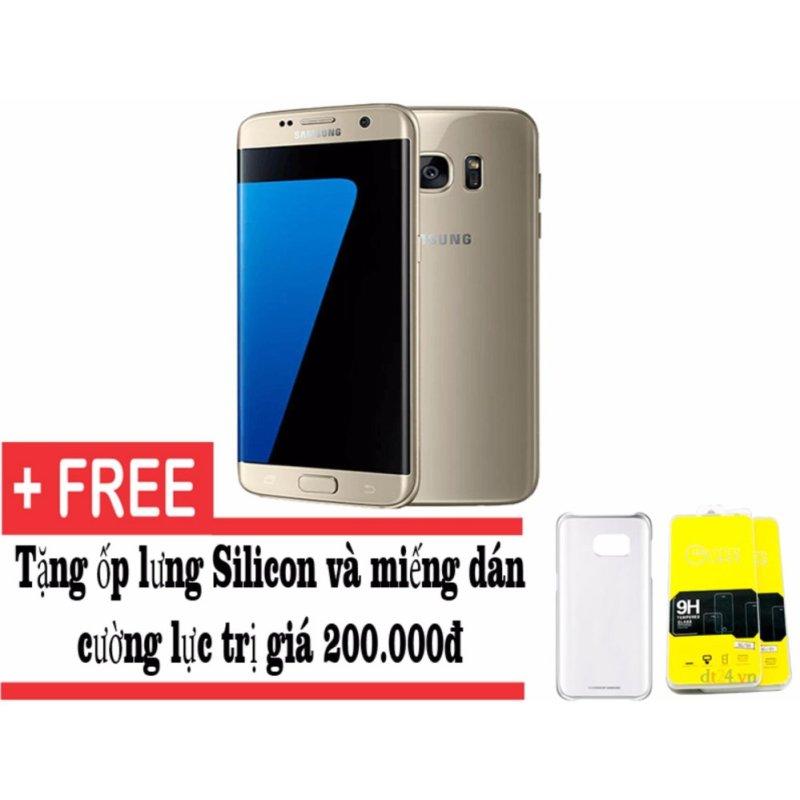 Samsung Galaxy S7 edge 32GB (Vàng) 1 sim - Hàng nhập khẩu + Tặng ốp lưng và miếng dán cường lực