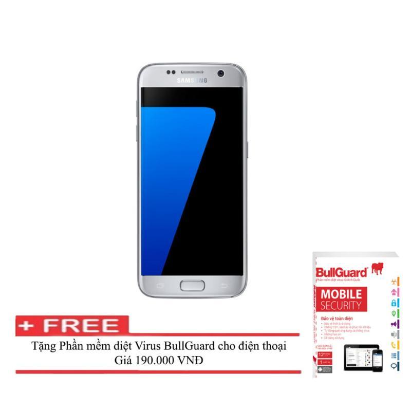 Samsung Galaxy S7 SM-G930 32GB (Nhập khẩu từ Mỹ) + Tặng Phần mềm diệt Virus BULLGUARD (Anh quốc) - Hàng nhập khẩu