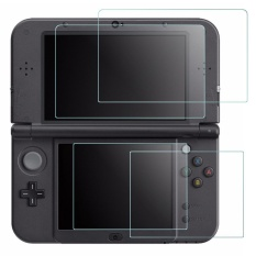 Screen Protector for Nintendo NEW 3DS XL, [2 PACK] Gogerstar Tempered Glass for Top Screen and HD Clear Crystal PET Film for Bottom Screen, 3DSXL Film Accessory – intl  chi phí thấp