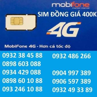 SIM SỐ ĐẸP 4G MOBIFONE ĐỒNG GIÁ