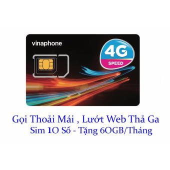 Sim Vinaphone 10 số gọi miễn phí,lướt web tẹt ga không lo về giá
