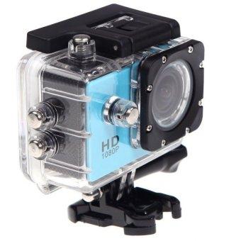 SJ 4000 Sport Camera Full HD Action Camera 1080P 2.0 inchWaterproof 30M Extreme Aktion Camera-Blue - intl