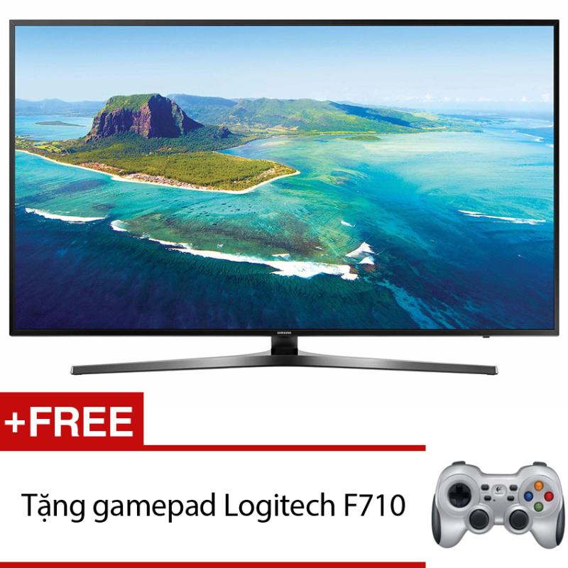 Bảng giá Smart Tivi LED Samsung 49inch 4K – Model UA49KU6400KXXV (Đen) + Tặng gamepad Logitech F710