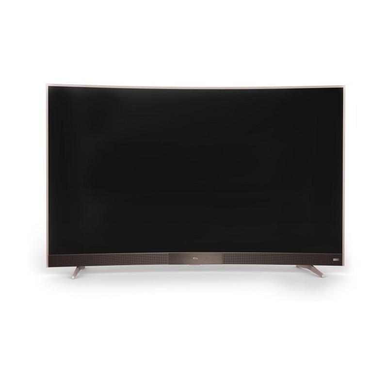 Bảng giá Smart TV LED Android màn hình cong TCL 49 inch Full HD - Model L49P3-CF (Rose Gold) - Hãng phân phối chính thức