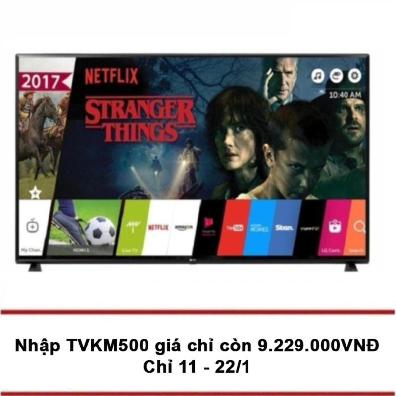 Bảng giá Smart TV LED LG 49 inch Full HD - Model 49LJ550T (Đen) - Hãng phân phối chính thức