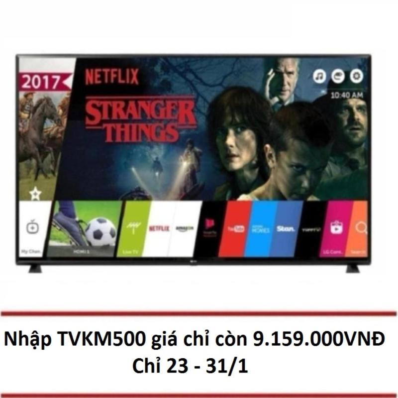 Nơi bán Smart TV LED LG 49 inch Full HD - Model 49LJ550T (Đen) - Hãng phân phối chính thức