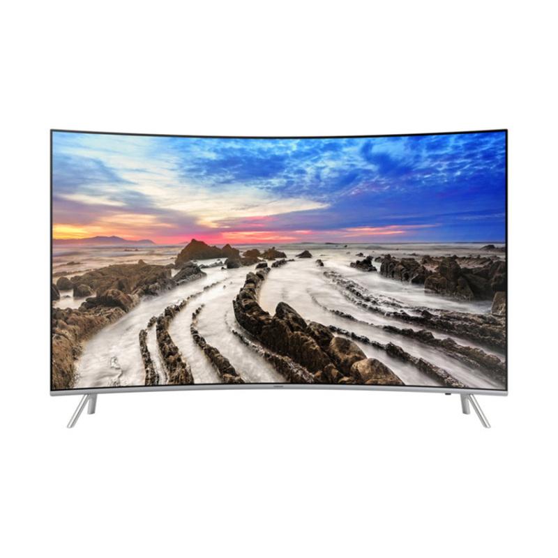 Bảng giá Smart TV màn hình cong Premium Samsung 49 inch 4K UHD - Model UA49MU8000KXXV (Đen) - Hãng phân phối chính thức