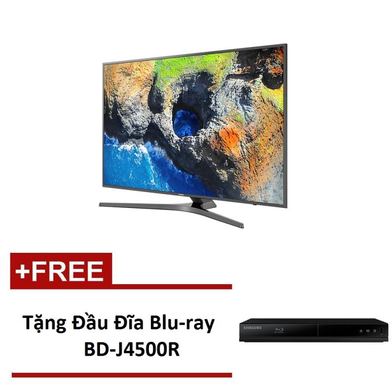 Bảng giá Smart TV Samsung 49 inch 4K UHD – Model MU6400 (Đen) - Hãng phân phối chính thức - Tặng Đầu Đĩa Blu-ray