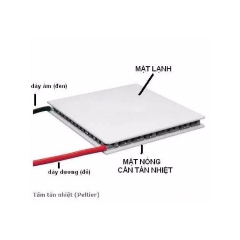 Bảng giá Sò Nóng Lạnh Peltier TEC1-12706 40x40mm Phong Vũ