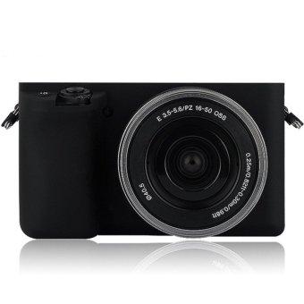 Soft Silicone Rubber Camera Case for Sony ILCE-6000 A6000 - intl