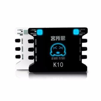 sound card thu âm/Karaoke/Livestream online chuyên nghiệp XOX K10