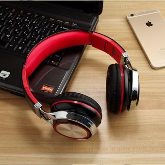 Tai nghe chụp tai lNGEL (Đen đỏ) - Cloud Store