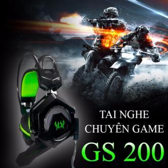 Tai nghe chuyên Game Pro GS 200 đèn Led đổi 7 màu có rung và mic