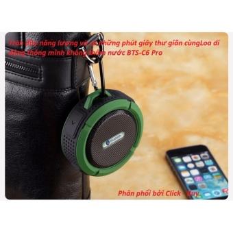 tai nghe Loa di động BTS-C6 Pro chống nước tuyệt đối - Phân phối bởi Click - Buy