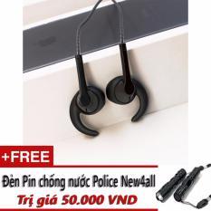 Tai nghe nhet tai BYZ S396 (đen) + Tặng 01 đèn pin mini New4all
