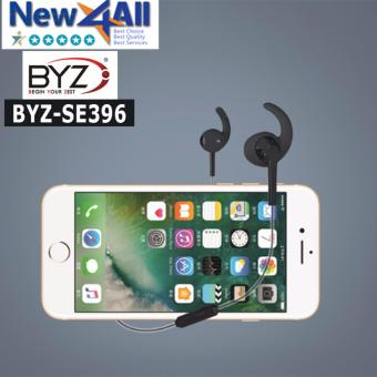 Tai nghe nhét tai BYZ SE-396 siêu bền, dây chống rối (Đen)
