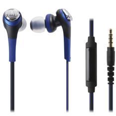 Tai nghe nhét tai Solid Bass Audio Technica ATH-CKS550iS (Xanh dương)