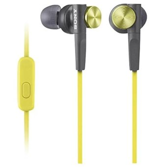 Tai nghe nhét tai Sony MDR-XB50AP (Vàng) - Hãng phân phối chính thức