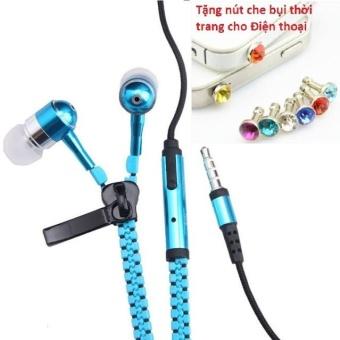 Tai nghe Thời trang Cao cấp Zipper (có khóa kéo chống rối) + TặngNút bịt chống bụi thời trang cho điện thoại - 8401137 , OE680ELAA5O0HQVNAMZ-10391262 , 224_OE680ELAA5O0HQVNAMZ-10391262 , 49600 , Tai-nghe-Thoi-trang-Cao-cap-Zipper-co-khoa-keo-chong-roi-TangNut-bit-chong-bui-thoi-trang-cho-dien-thoai-224_OE680ELAA5O0HQVNAMZ-10391262 , lazada.vn , Tai nghe Thời