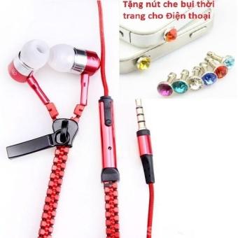 Tai nghe Thời trang Cao cấp Zipper (có khóa kéo chống rối) + TặngNút bịt chống bụi thời trang cho điện thoại - 8401709 , OE680ELAA5PA1MVNAMZ-10457702 , 224_OE680ELAA5PA1MVNAMZ-10457702 , 49600 , Tai-nghe-Thoi-trang-Cao-cap-Zipper-co-khoa-keo-chong-roi-TangNut-bit-chong-bui-thoi-trang-cho-dien-thoai-224_OE680ELAA5PA1MVNAMZ-10457702 , lazada.vn , Tai nghe Thời