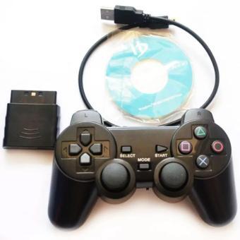 Tay game không dây Android tivi box/PC Dual Shock 3 (Đen)