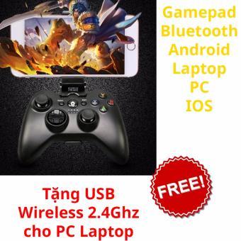 Tay game không dây cho Android + máy tính, pc, laptop