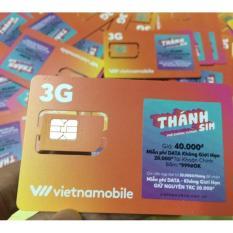 Thánh sim 3G Vietnamobile - FREE 4Gb / ngày