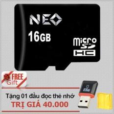 Vì sao mua Thẻ nhớ 16GB NEO micro SDHC – Tặng đầu đọc micro