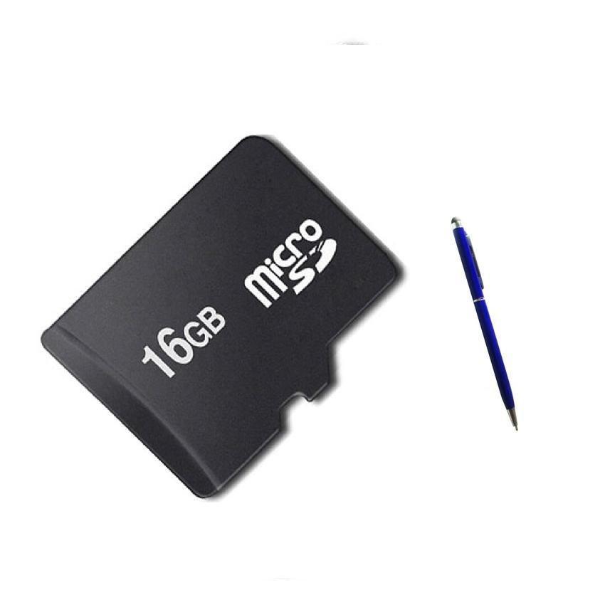 Thẻ nhớ MICRO Memory Card SD ACCESSORY NPTN64 16GB (Đen) + bút cảm ứng