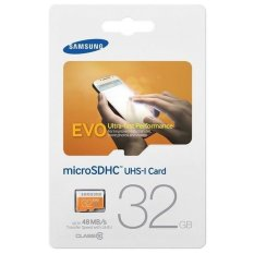 Thẻ nhớ MicroSDHC Samsung Evo 48Mb/s class 10 32GB (Cam)