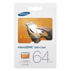 Thẻ nhớ MicroSDXC Samsung Evo Class 10 64GB 48MB/s (Cam)