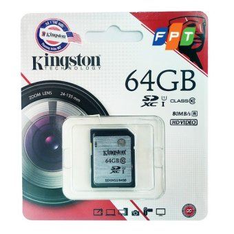 Thẻ nhớ SD 64GB Kingston UHS1 Class10 up to 80MB/s - 8223514 , KI615ELAA1L8HWVNAMZ-2605908 , 224_KI615ELAA1L8HWVNAMZ-2605908 , 650000 , The-nho-SD-64GB-Kingston-UHS1-Class10-up-to-80MB-s-224_KI615ELAA1L8HWVNAMZ-2605908 , lazada.vn , Thẻ nhớ SD 64GB Kingston UHS1 Class10 up to 80MB/s