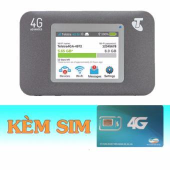 Thiết Bị Phát Wifi 3G/4G Netgear Aircard 782S +Sim 4G Viettel tặng12GB/Tháng