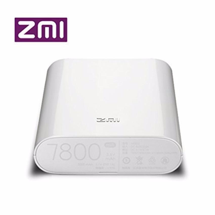 Hình ảnh Thiết bị phát wifi từ sim 3G/4G Xiaomi ZMI MF855 kiêm sạc dự phòng 7800mAH