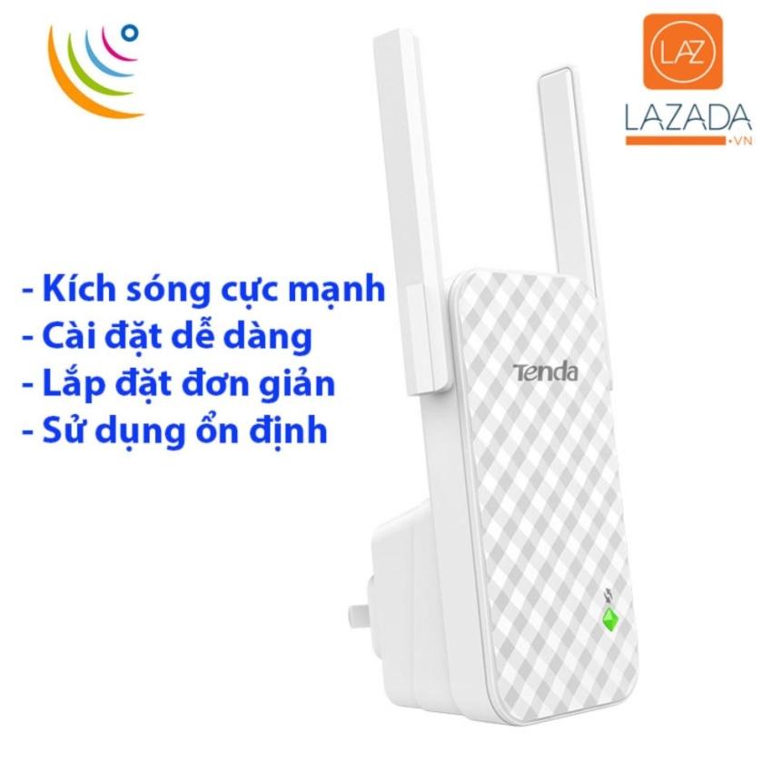 Hình ảnh Thiet bi wifi gia re - Bộ kích sóng wifi TENDA HDA9 , kích sóng cực mạnh, kiểu dáng sang trọng, sử dụng dễ dàng - BH UY TÍN bởi HDTECH