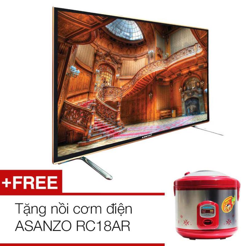 Bảng giá Tivi LED Asanzo 55 inch Full HD – Model 55T850 + Tặng nồi cơm điện ASANZO RC18AR