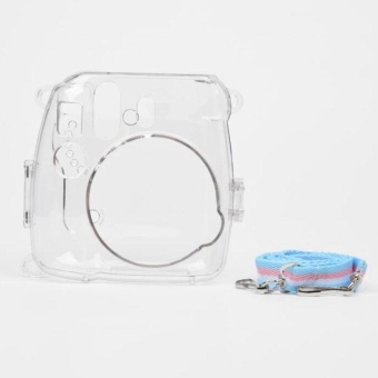 Transparent Shell Case Cover Bag For Fuji Fujifilm Instax Mini 8Camera - intl - 4