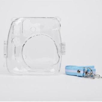 Transparent Shell Case Cover Bag For Fuji Fujifilm Instax Mini 8Camera - intl - 3