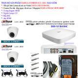 Hình ảnh Trọn bộ 1 đầu ghi hình 4 kênh CHUẨN HD DAHUA DHI-XVR4104C + 2 Camera DAHUA DH-HAC-HDW1000RP +1 ổ cứng Seagate 160GB+2 nguồn 12V+4 Rắc BNC+1 dây HDMI