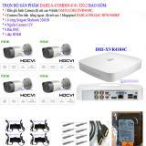 Hình ảnh Trọn bộ 1 đầu ghi hình 4 kênh CHUẨN HD DAHUA DHI-XVR4104C + 4 Camera DAHUA DH-HAC-HFW1000RP +1 ổ cứng Seagate 320GB+4 nguồn 12V+8 Rắc BNC+1 dây HDMI