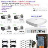 Hình ảnh Trọn bộ 1 đầu ghi hình 4 kênh CHUẨN HD DAHUA DHI-XVR4104C + 4 Camera DAHUA DH-HAC-HFW1000RP +1 ổ cứng Seagate 500GB+4 nguồn 12V+8 Rắc BNC+1 dây HDMI