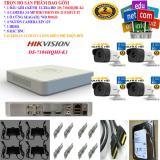 Hình ảnh Trọn bộ 1 đầu ghi hình Camera 4 KÊNH ULTRA HD cao cấp Hikvision DS-7104HQHI-K1 + 4 Camera ULTRA HD DS-2CE16F1T-IT + 1 ổ cứng Seagate /WD 500GB + 4 Nguồn nhện xịn 12V + 8 Rắc BNC + 1 dây HDMI