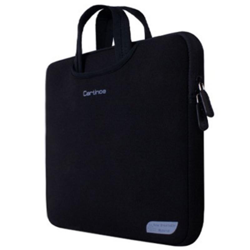 Bảng giá Túi chống sốc Macbook Pro-Pro Retina-Air 13inch - Cartinoe Breath Series (Đen) Phong Vũ