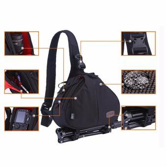 Túi đeo chéo vai đựng máy ảnh chất liệu cao cấp + Túi chống thấm,POPO Sport