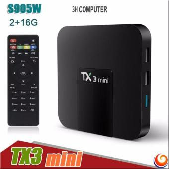 TV Box TX3 Mini Amlogic S905W 2G RAM 16G ROM Android7.1 4K