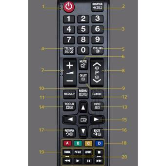 TV Remote Control For Samsung AA59-00602A LCD LED HDTV