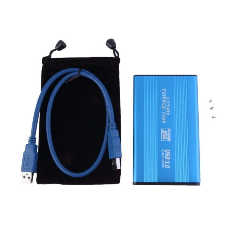 Bảng giá UINN Blue USB 3.0 HDD Hard Drive External Enclosure 2.5 Inch SATA HDD Case Box - intl Phong Vũ