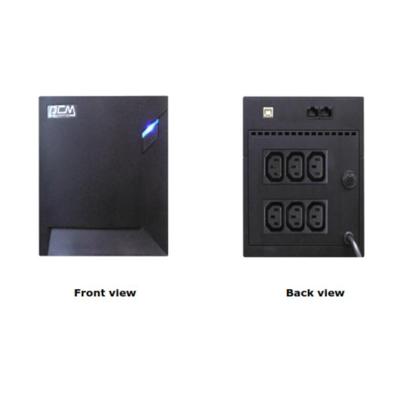 Bảng giá UPS Powercom 1000VA Line Interactive RPT-1000AP Phong Vũ