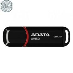 USB 3.0 ADATA UV150 16GB (Đen) - Hãng phân phối chính thức